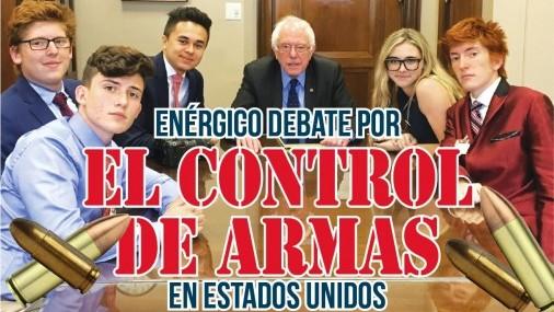Enérgico Debate por el Control de Armas  en Estados Unidos
