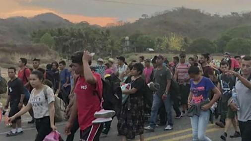 Caravana hacia la frontera  de Estados Unidos tira chispas de ira a Trump
