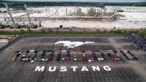 Ford celebra la roducción de 10 millones de Mustang