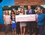 St Jude Children's Research Hospital celebra el ganador de Sorteo St. Jude Dream Home