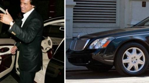 Cuáles son los vehículos en los que se ha hecho ver el famoso cantante Luis Miguel