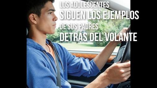 De tal palo tal astilla ¿Porqué los adolescentes conducen como sus padres?