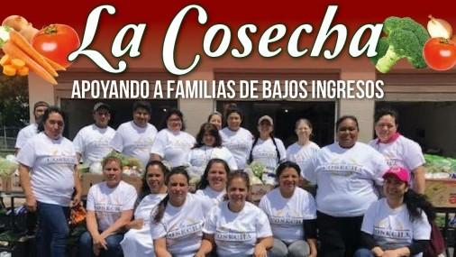 La Cosecha Apoyando a Familias de Bajos Ingresos