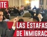 Evite las Estafas de Inmigración