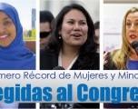 Número Récord de Mujeres y Minorias  Elegidas al Congreso