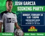 Welcome to Energy FC Josh Garcia!