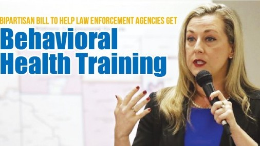 Bipartisan bill to help Law enforcement agencies get  Behavioral Health Training