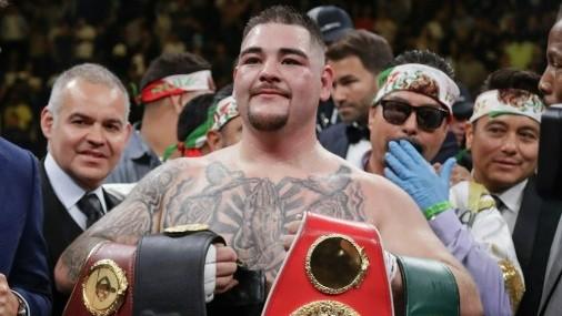 Andy Ruiz se convierte en primer Campeón de Peso Pesado de ascendencia Mexicana