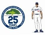 Los Dodgers retirarán No. 168 Y 19 El equipo retirará No. 168 en Chickasaw Bricktown Ballpark y No. 19 dentro de OKC Dodgers Rookie League
