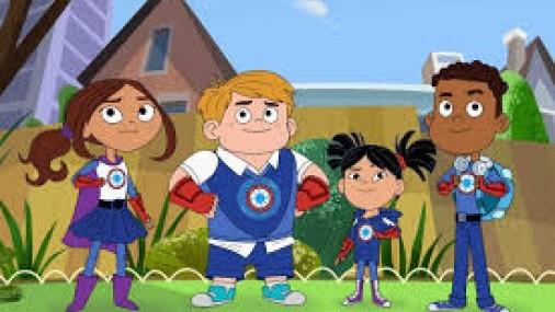 HERO ELEMENTARY una escuela de  superhéroes DISPONIBLE en PBS KIDS