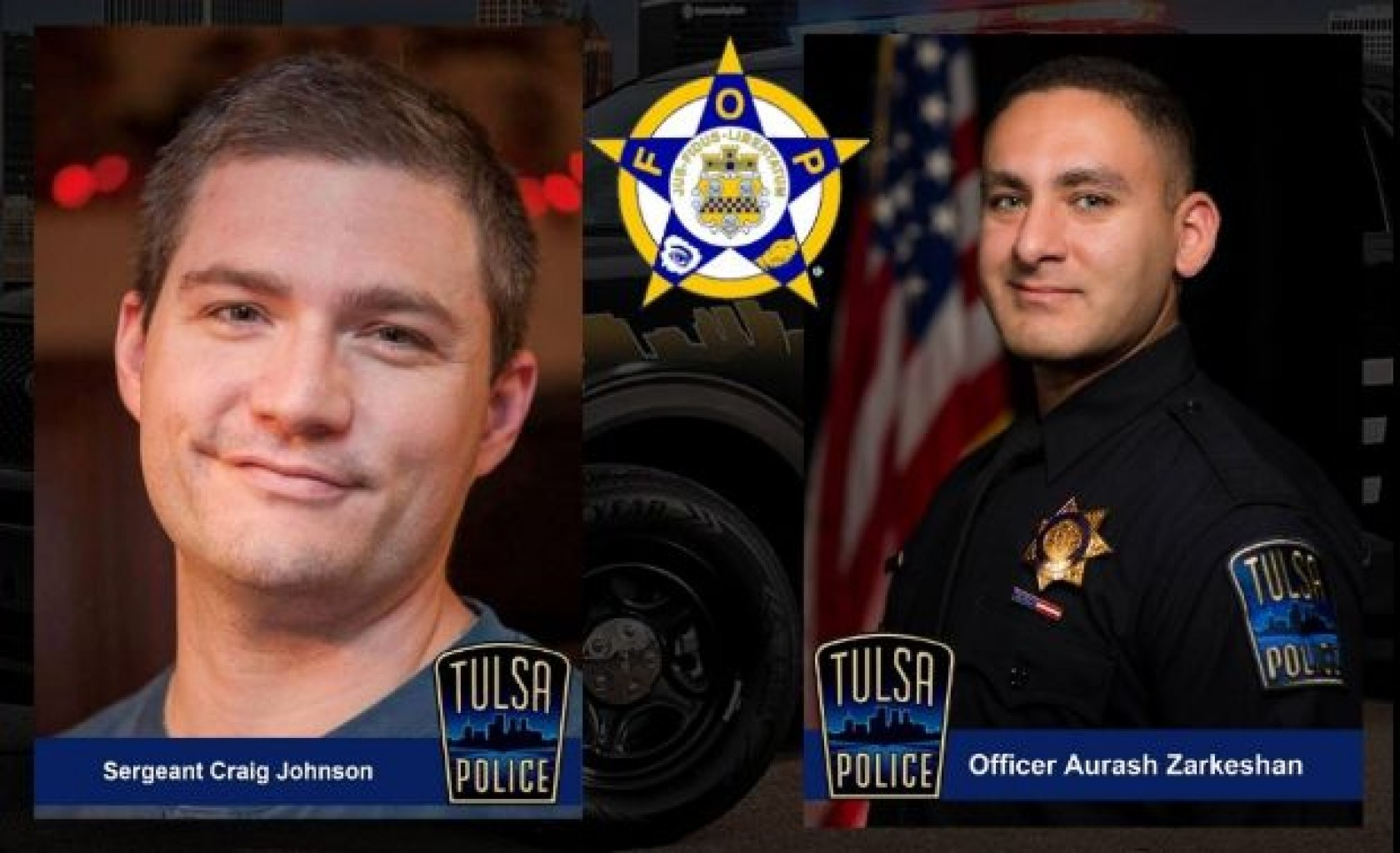 Legislación en honor de oficial de policía baleado en Tulsa