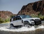 El nuevo Land Rover Defender desembarca en los Estados Unidos