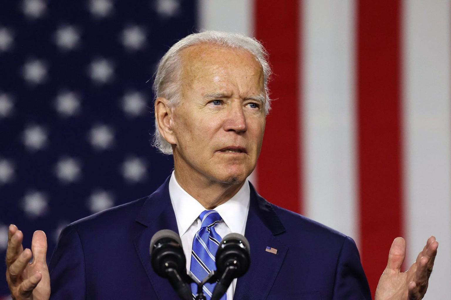 Biden recurre a historia para resaltar la urgencia de la campaña 2020