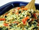 Receta de la Semana: Cacerola de pavo, cebada y vegetales