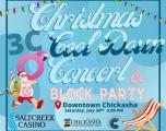 "Chickasha Chamber, EDC present  ""Christmas Cool Down & Block Party"" July 24"