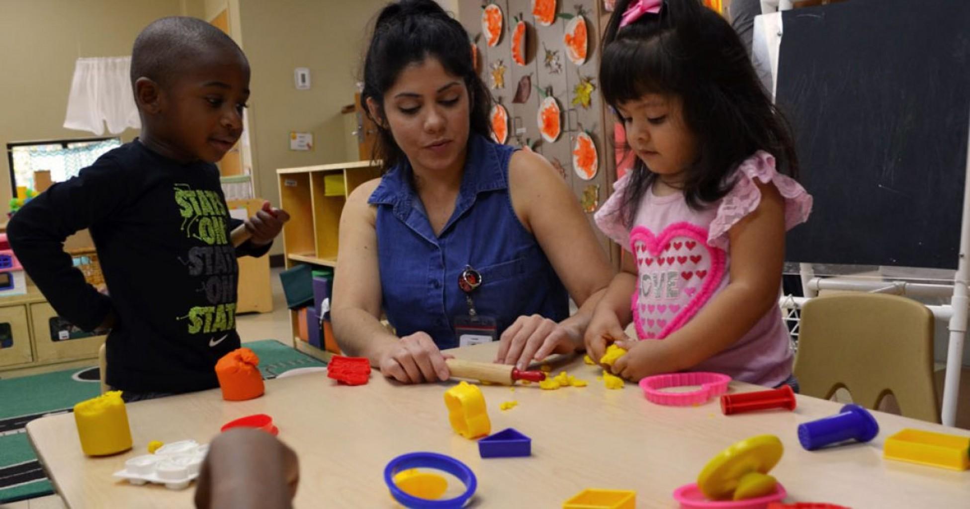 Programa gratuito de educación para Niños pequeños