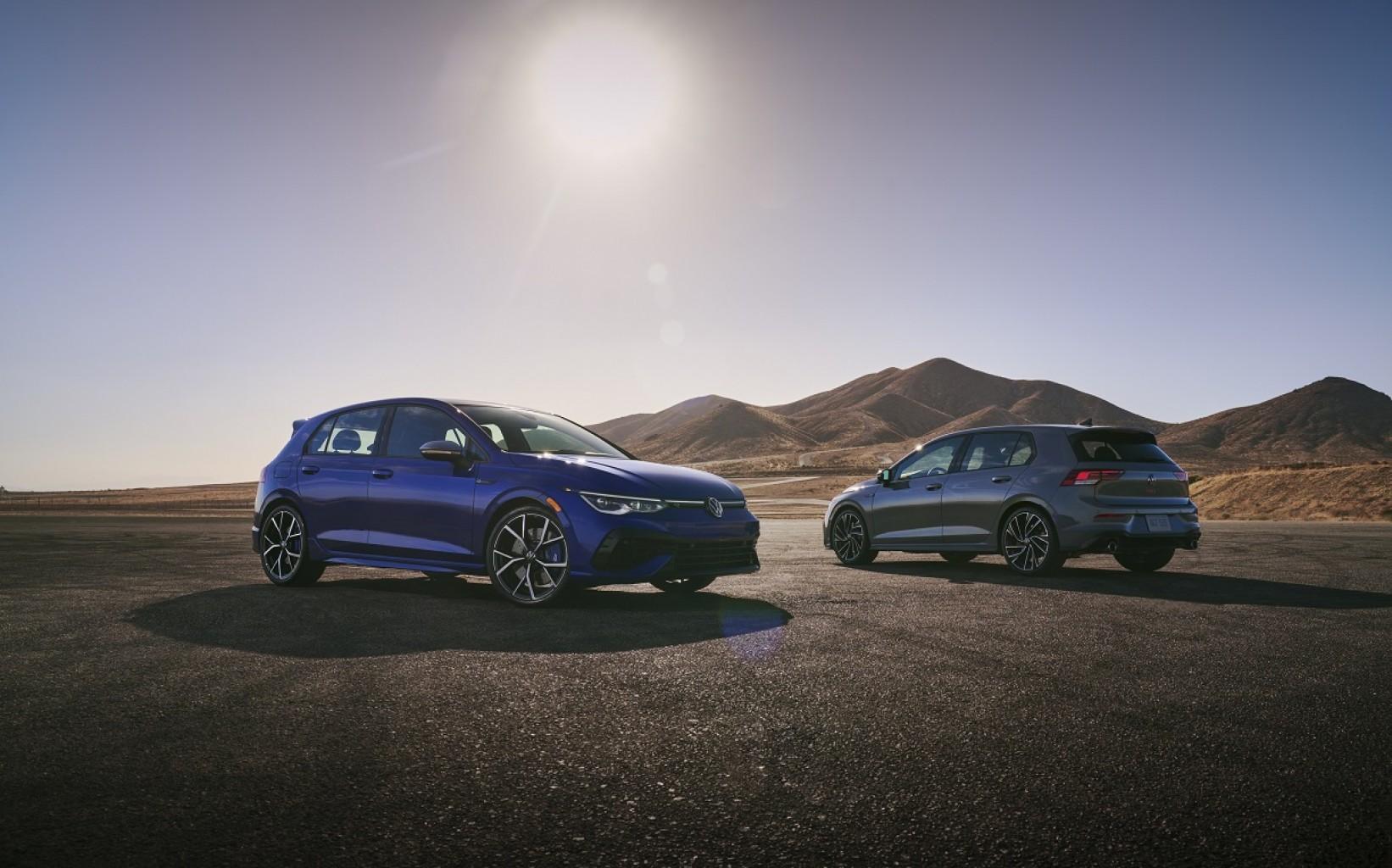 Los Volkswagen Golf GTI y Golf R del 2022 llegarán en el último trimestre del año